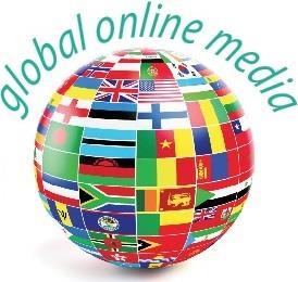 Global Online Media Logo
