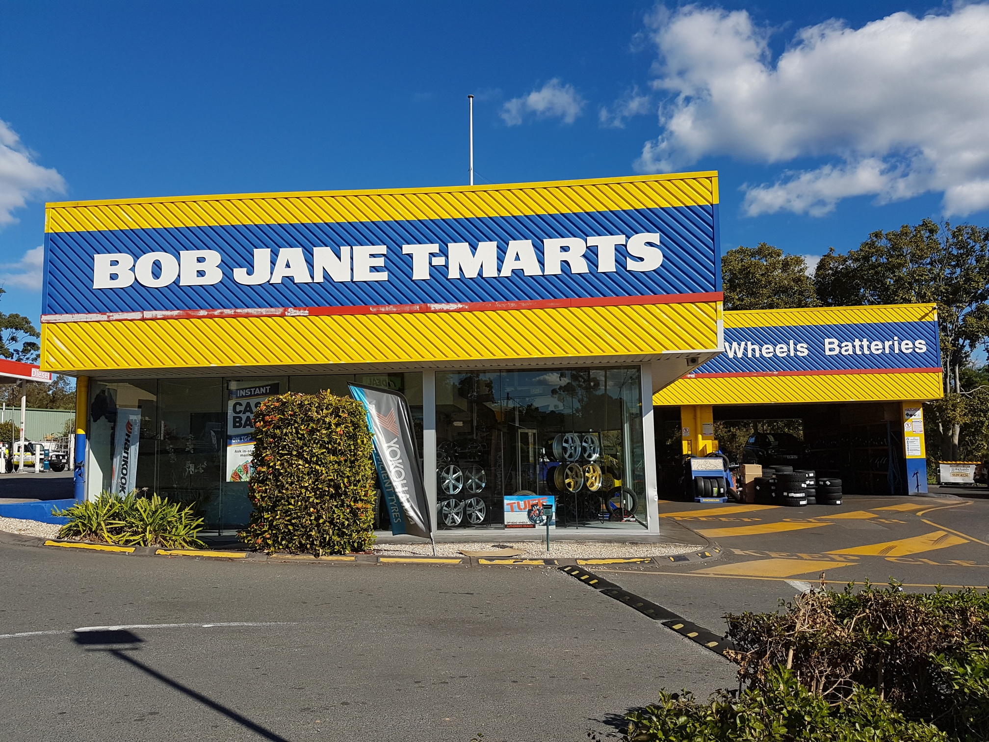 Bob Jane T-Marts Nerang Franchise Opportunity (Tyres, Wheels & Batteries)