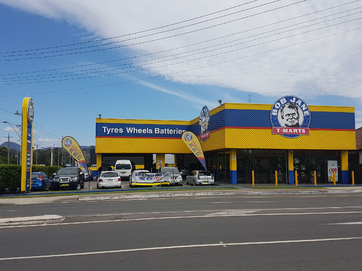 Bob Jane T-Marts Wollongong Franchise Opportunity (Tyres, Wheels & Batteries)