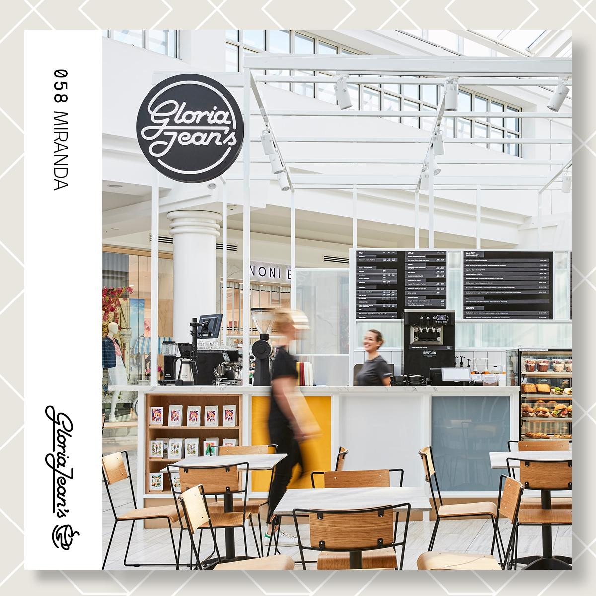 Quality coffee & food for customers on the run! Gloria Jean's Coffees