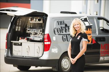 Be That Coffee Guy! NEW Coffee Guy mobile franchise available in NSW!