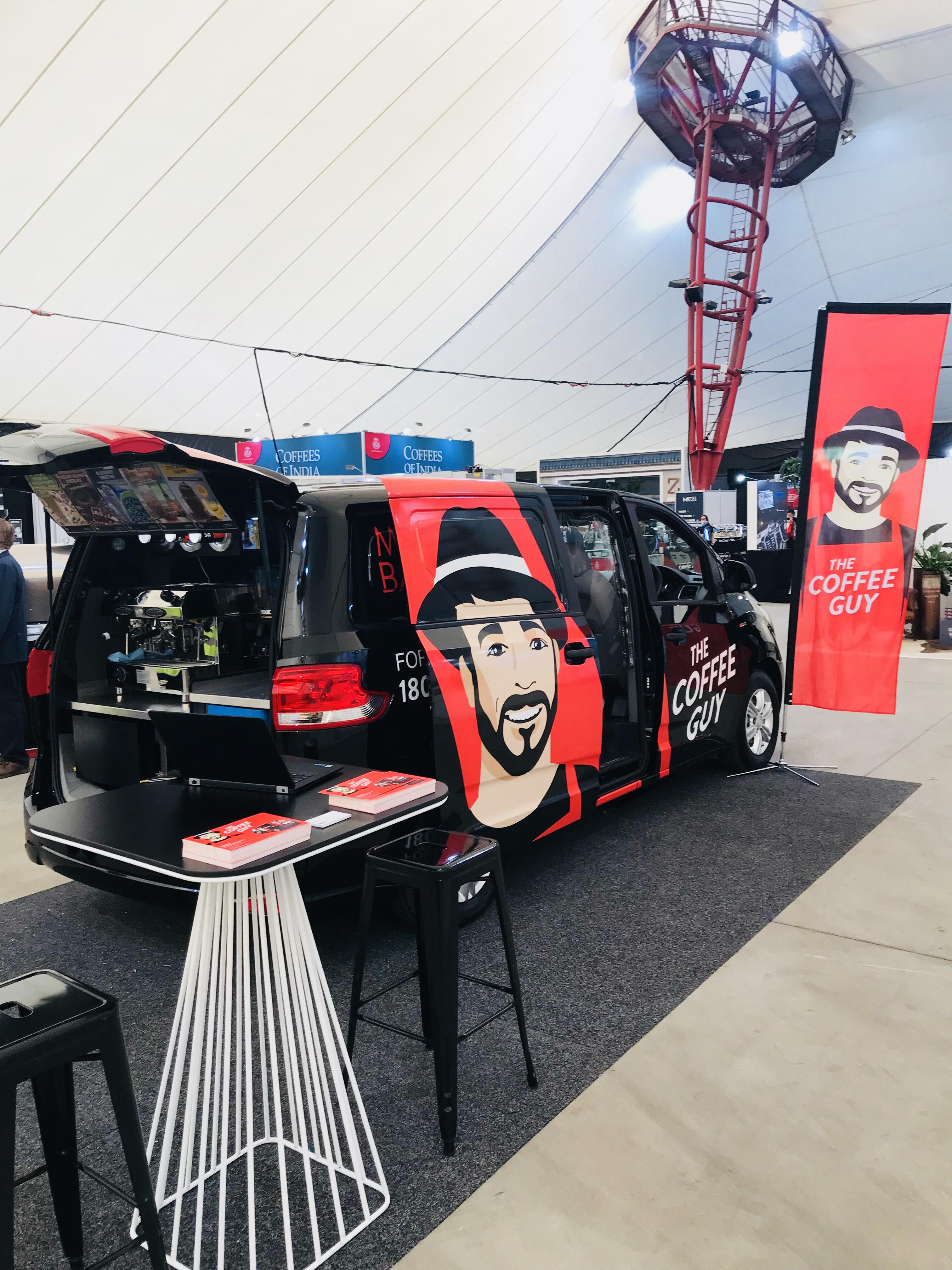 Be That Coffee Guy! NEW Coffee Guy mobile franchises available in Western Sydney