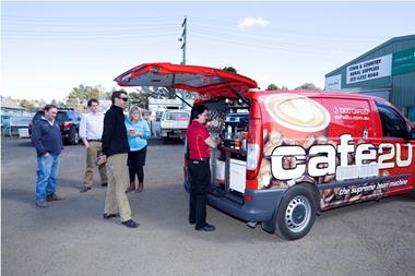Café2U – Established Mobile Coffee Franchise now available in Embelton, WA!