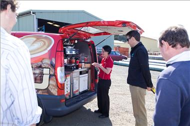 Café2U – Mobile Coffee Franchise available in Albury NSW!