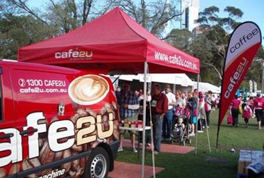 Café2U – Established Mobile Coffee Franchise now available in Parramatta, NSW!