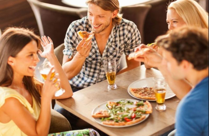 18035 newly refurbished wood fire pizza restaurant for for 18 8 salon franchise