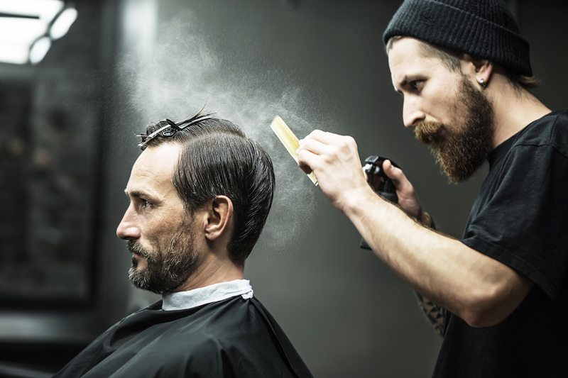 18061 Stylish Barber Shop in a prime location