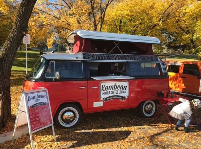 18063 Mobile Food and Coffee Lounge (Includes Two fitted out Kombi Vans and Trai