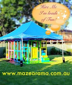 Mazearama Kids Mobile Playground