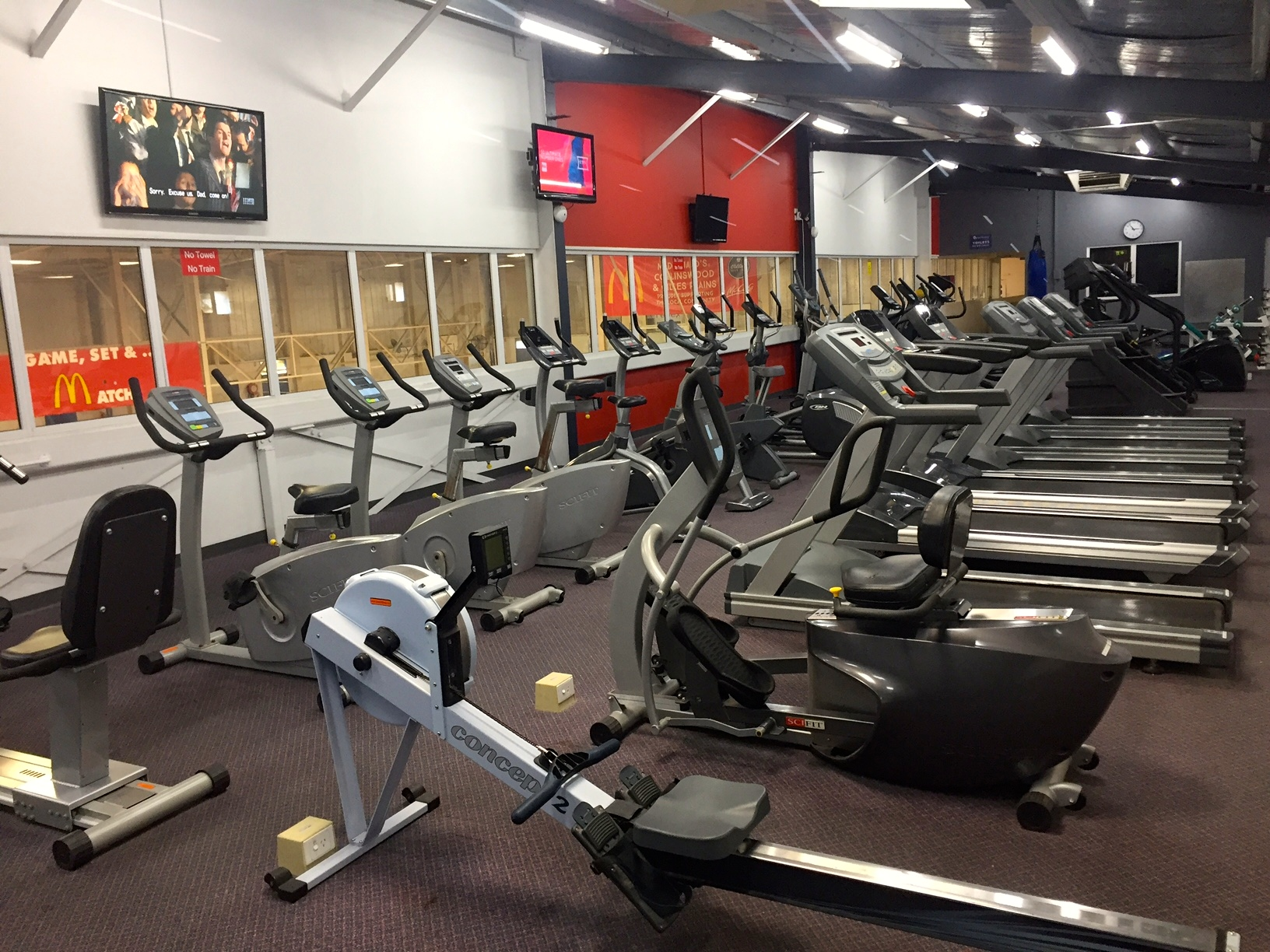 Modern 24/7 Independent Fitness Gym