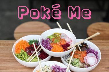 POKÉ ME: Fishing for success? Healthy Poké Restaurant! Brisbane, QLD