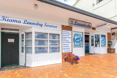 Take a seachange into KIAMA LAUNDRY SERVICES