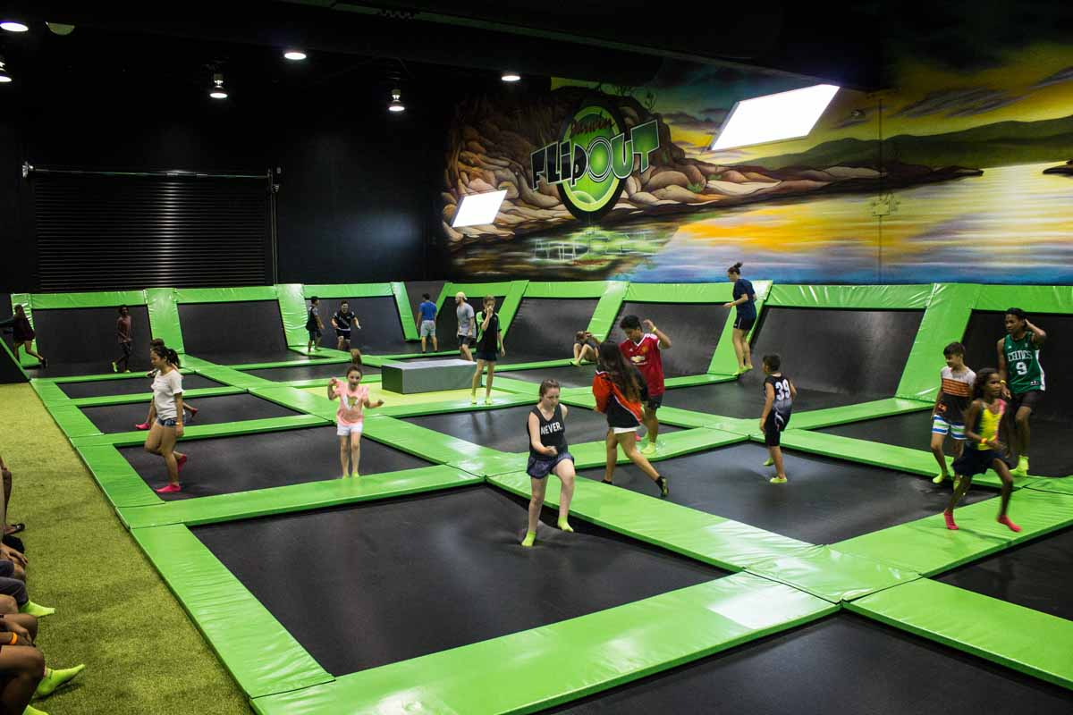 Flip into fun, fitness & excitment at Flip Out Darwin!