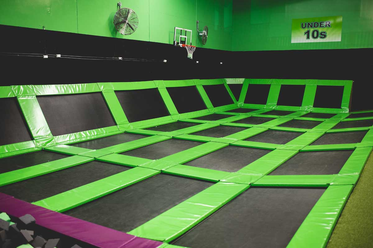Flip into fun, fitness & excitment at Flip Out Punchbowl!