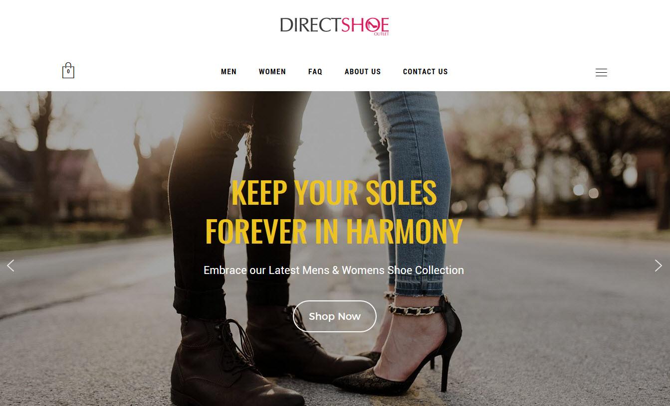 Online Luxury Footwear Store