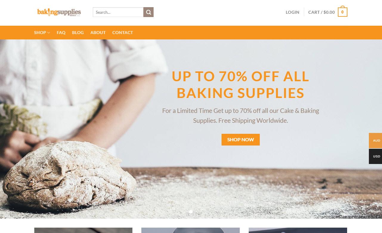 Baking Supplies Business Online