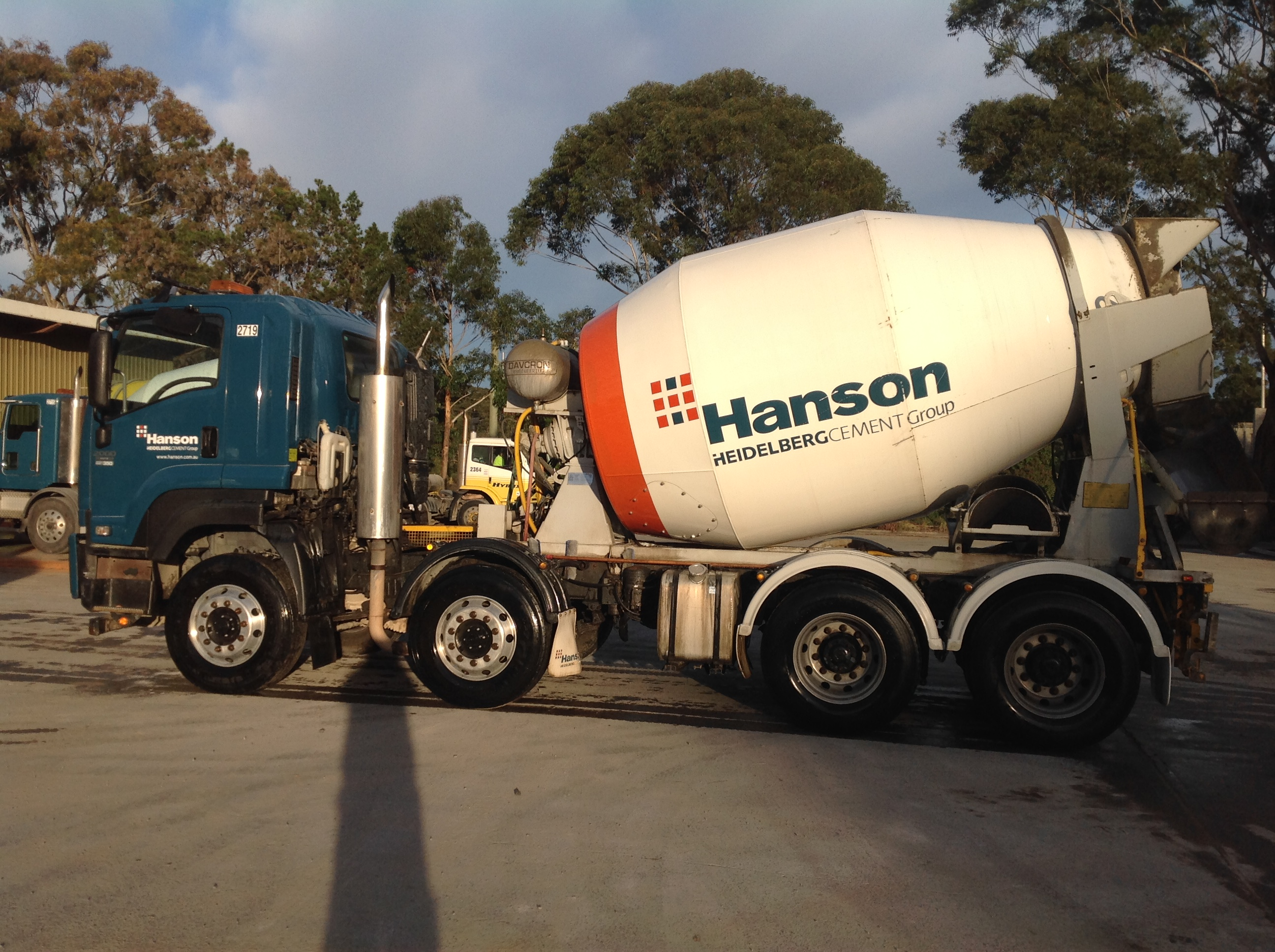Concrete Truck with Contract