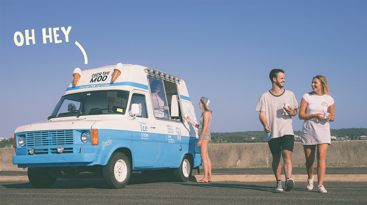Exclusive dairy free ice cream van franchise for NSW!