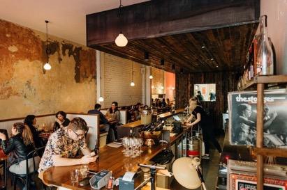 Outstanding Restaurant & Bar on Chapel Street, Windsor