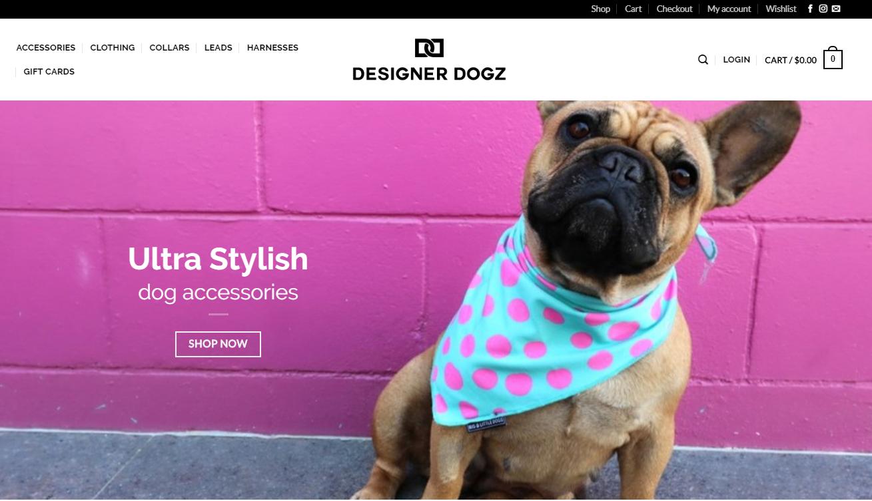 Online dog apparel business