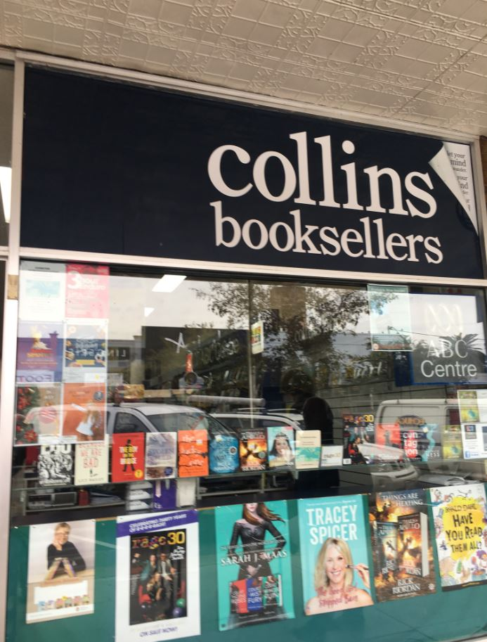 Long established Collins Booksellers Echuca store for sale - Minimal Investment