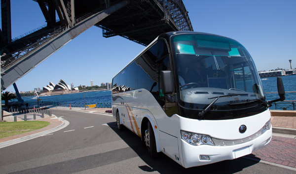 Unique Coach Minibus Charter Hire business for sale Sydney Depot near Airport.