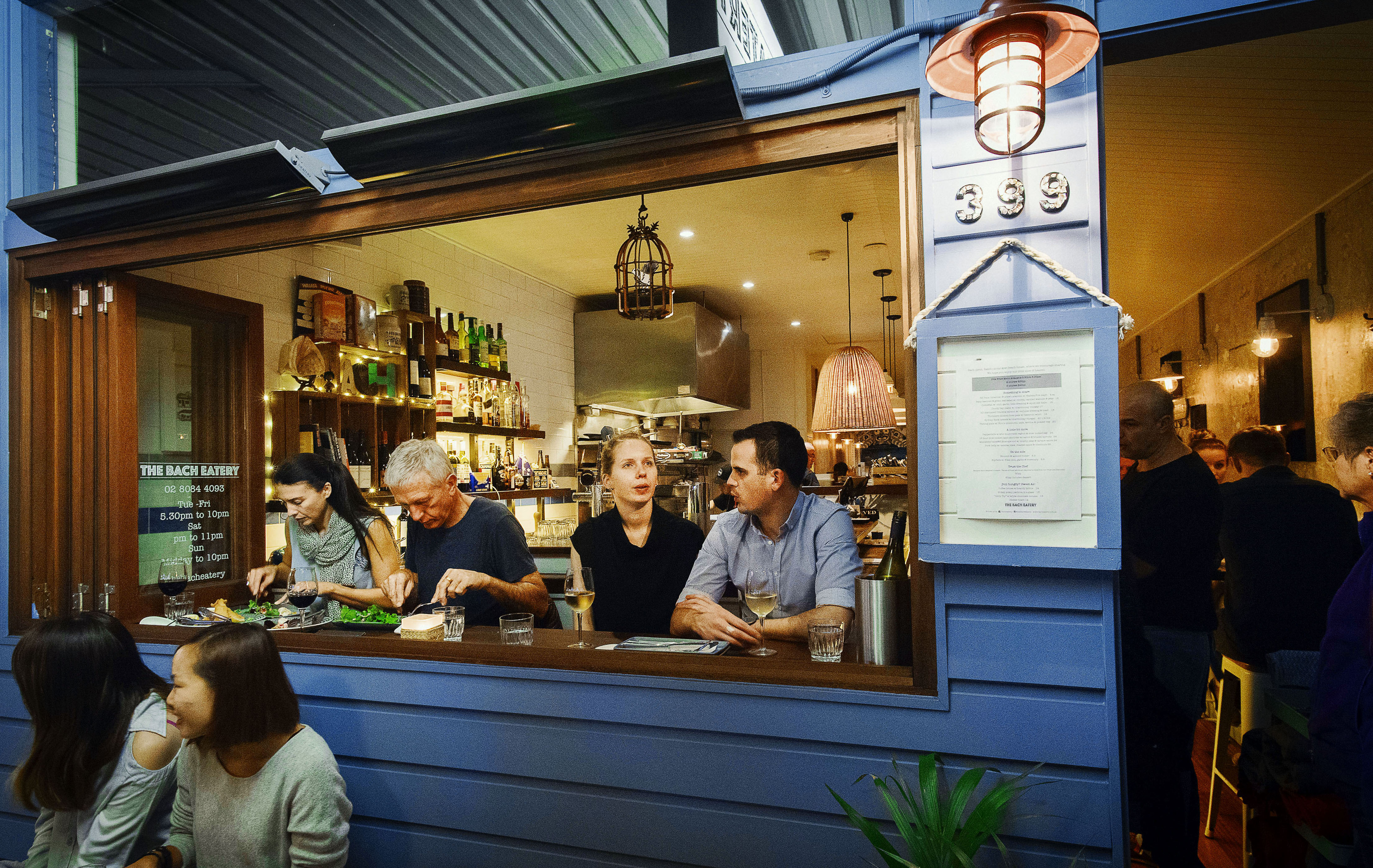 Modern Restaurant and Bar in Newtown- 5 days