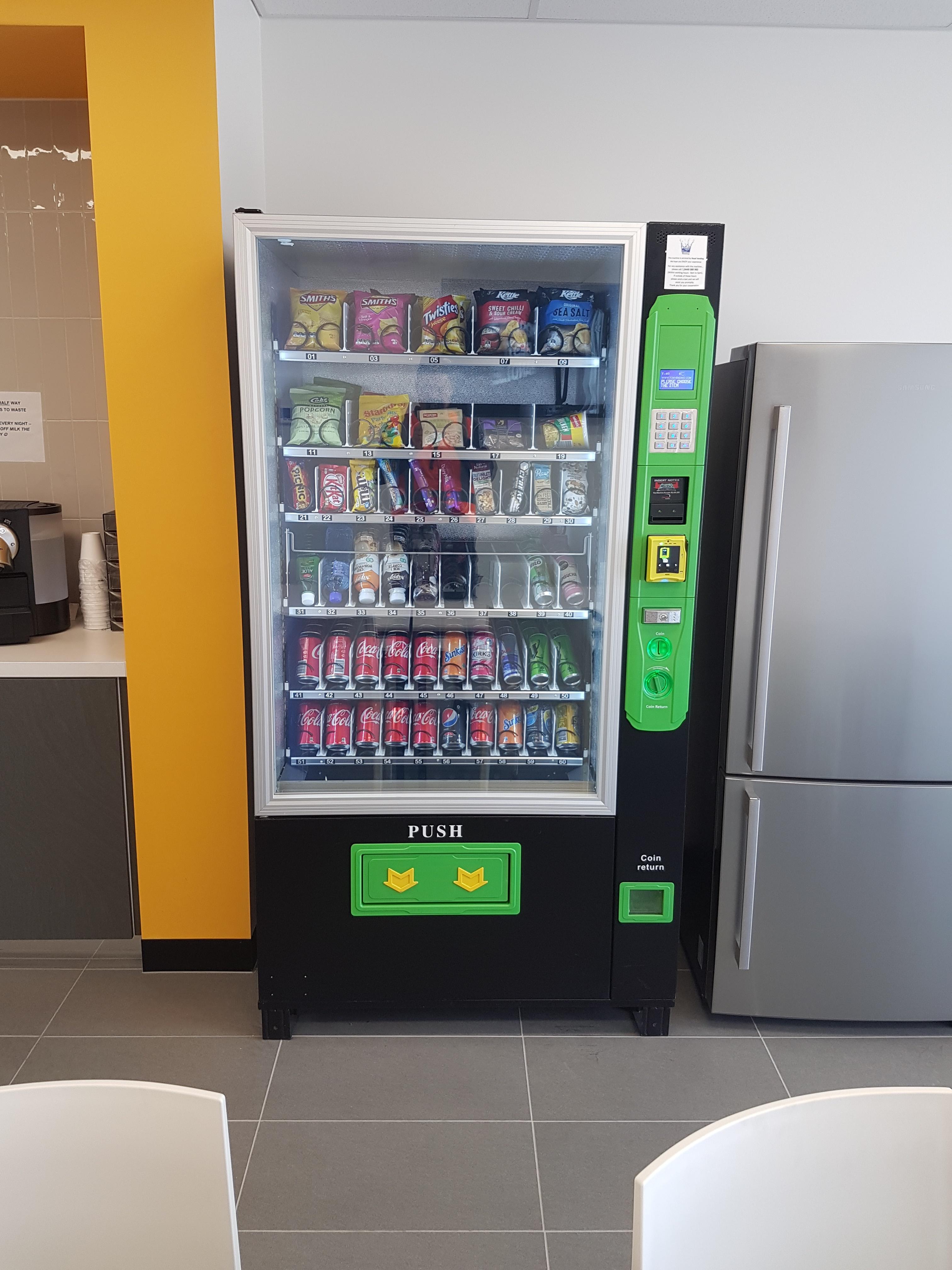 Premium vending machine packages - Income guarantee!