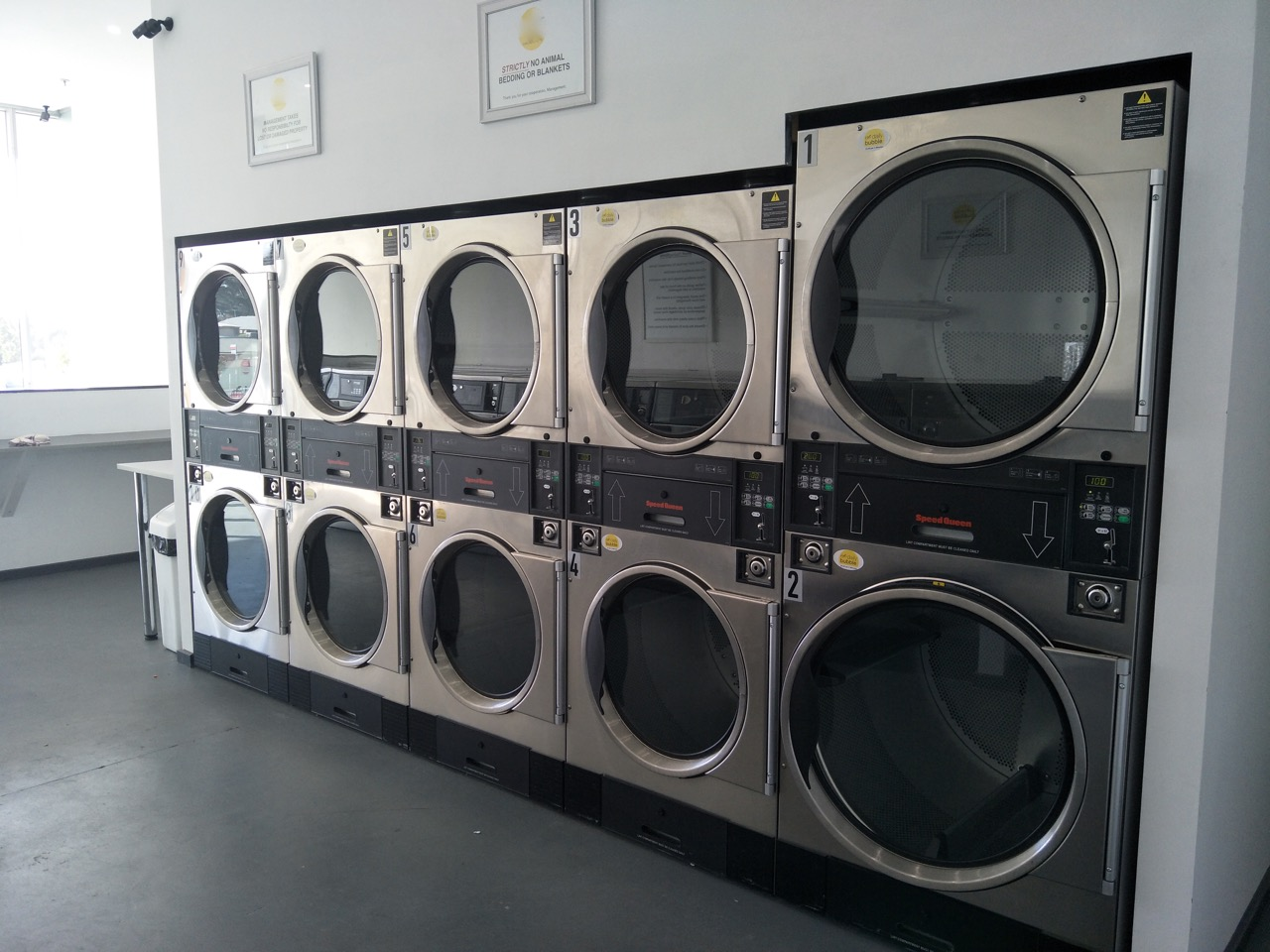Coin Laundry Business for sale, near new equipment, huge growth potential