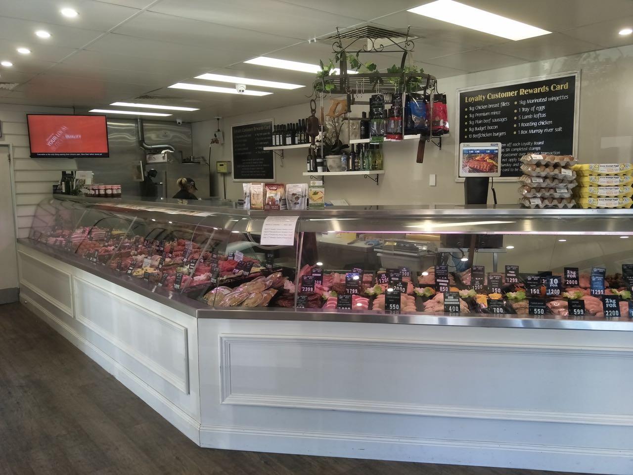 High grade Butcher shop for sale, excellent set up, great location