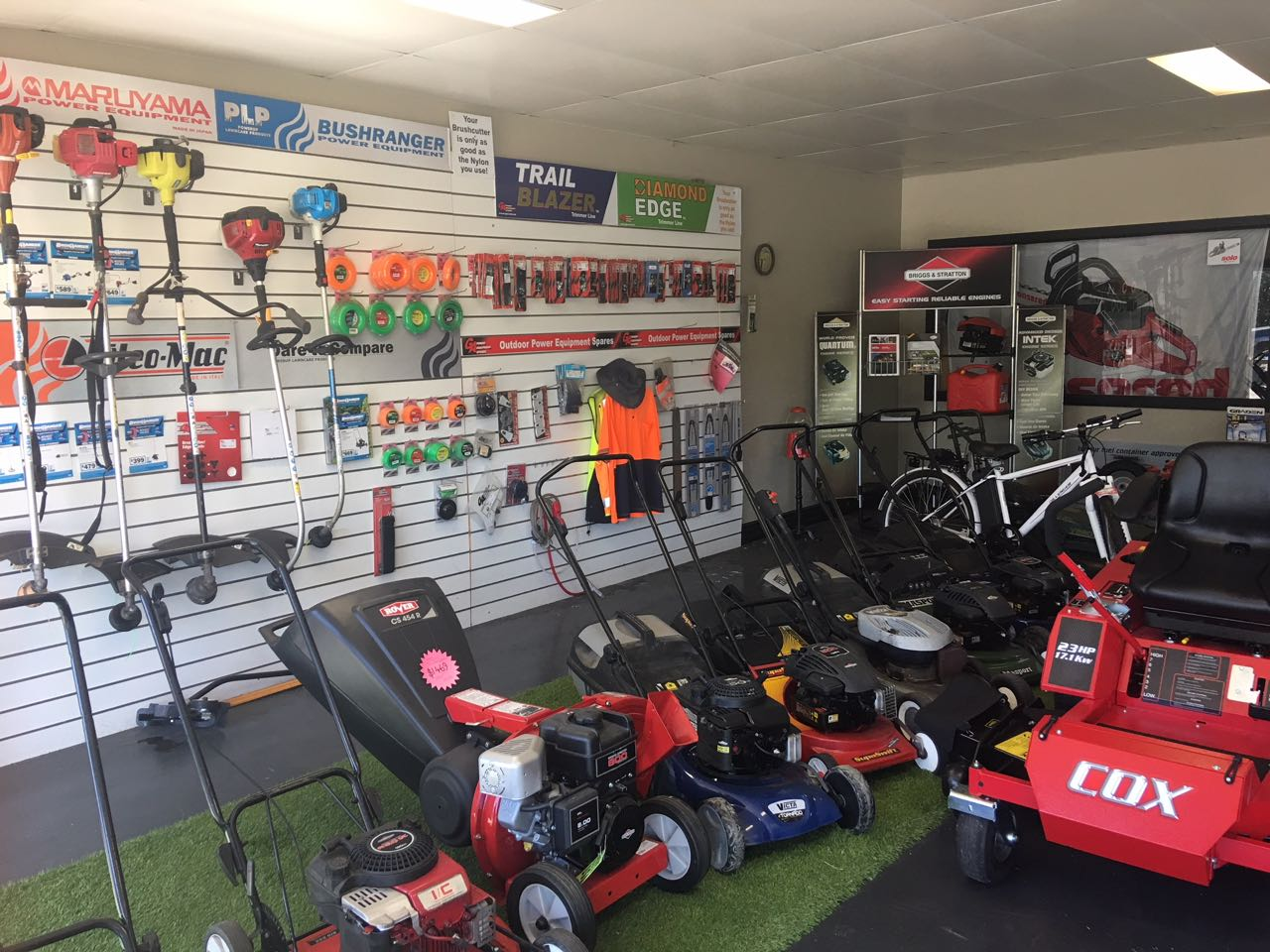 Law Mower, Outdoor equipment Sales and Service Business for Sale Gippsland