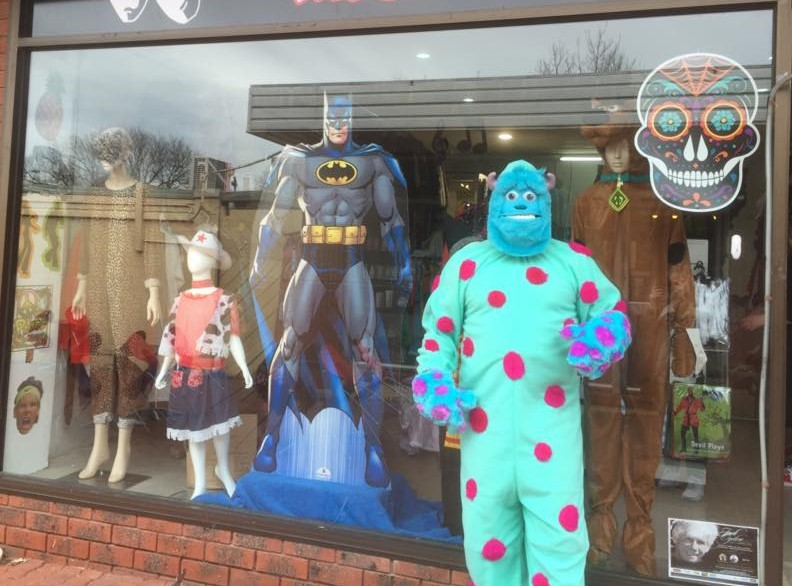 Costume For Hire Shop for Sale in Sunbury