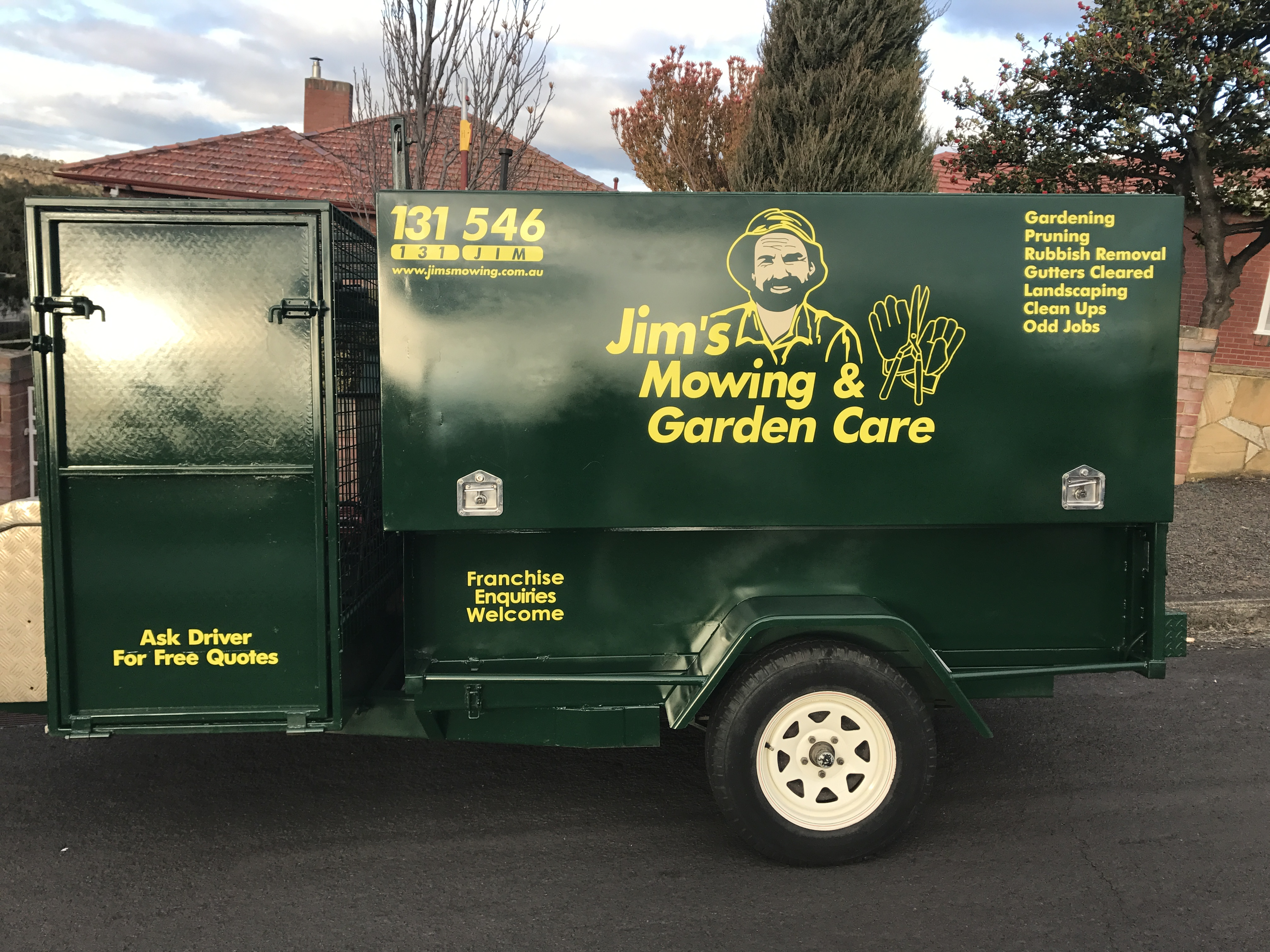 Jim's Mowing & Garden Care Franchise