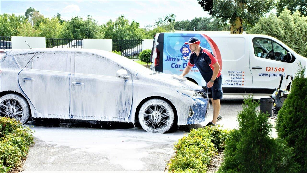 Jims Car Cleaning & Detailing Franchises Available CAN'T KEEP UP WITH THE DEMAND
