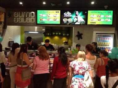 Franchise - Takeaway Food - Sumo Salad - Parramatta