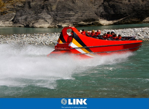 Jet Boat Tourist Business / Fully Relocatable