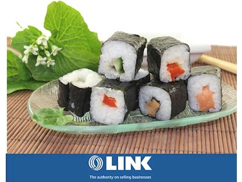 Inner City 5 Day Sushi Restaurant & Takeaway Business For Sale