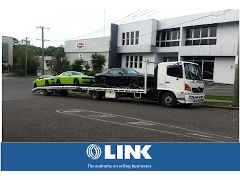 Fully Licensed Tow Truck Business For Sale