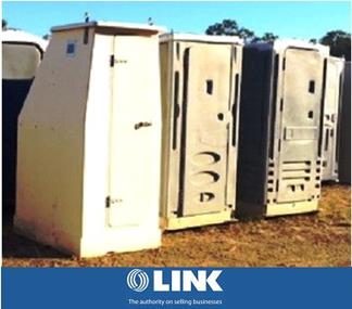 Simple Portable Toilet Business – Needs to be Sold!
