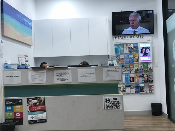 Brand New clinic inside a shopping centre on the Northern Beaches