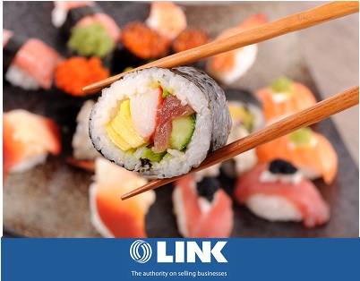 Sushi Takeaway shops in Busy Shopping Centre For Sale