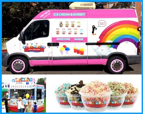 Profitable impressive mobile ice cream business