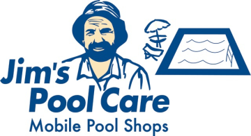 Jim's Pool Care Logo