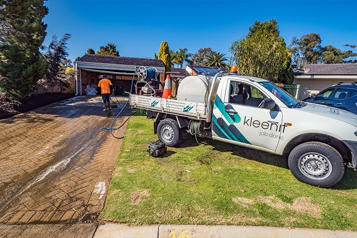 Heavy Duty Pressure Cleaning are you ready to do it? Join the WA Kleenit Team