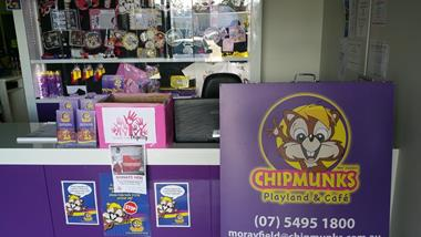 Chipmunks Playland & Cafe Franchise Morayfield. REDUCED to $199,000 plus SAV.