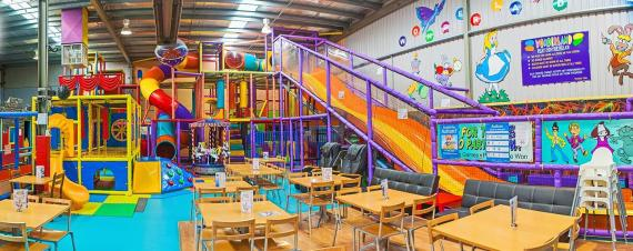 Wonderland Indoor Play Centre and Cafe For Sale