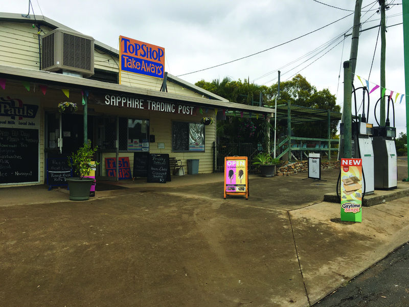 Freehold General Store/Caf/Newsagency  Sapphire, Qld
