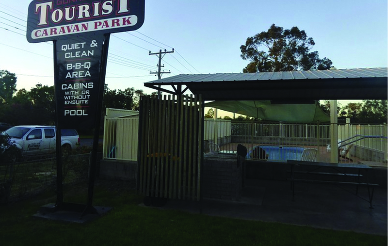 Consistent Return Freehold Tourist Park  Gunnedah, NSW