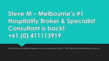 Melbournes #1 Hospitality and Business Broker with over 25 years of experience.