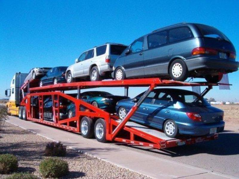 Car Freighters, 9 Trucks, 7 Trailers